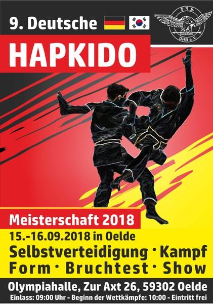Deutsche Hapkido-Meisterschaft 2018
